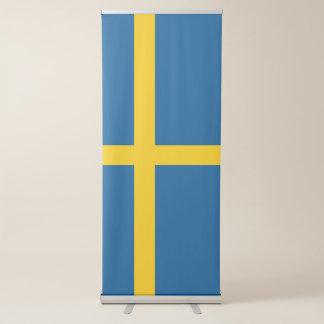 Sweden Flag Retractable Banner