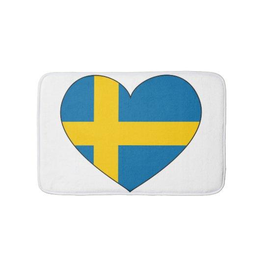 Sweden Flag Simple Bath Mat