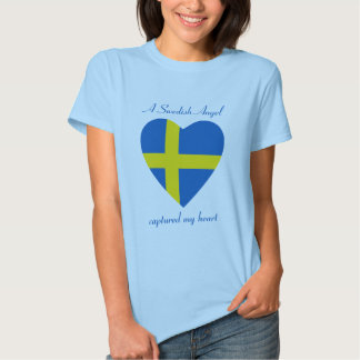Sweden Flag Sweetheart T-Shirt