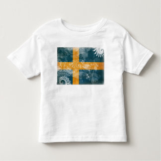 Sweden Flag Toddler T-shirt