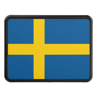 Sweden Flag Tow Hitch Covers