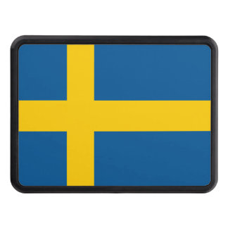 Sweden Flag Trailer Hitch Covers