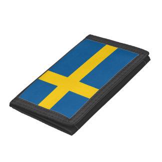 Sweden Flag Tri-fold Wallets