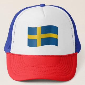 Sweden Flag Trucker Hat