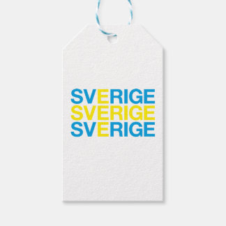 SWEDEN GIFT TAGS