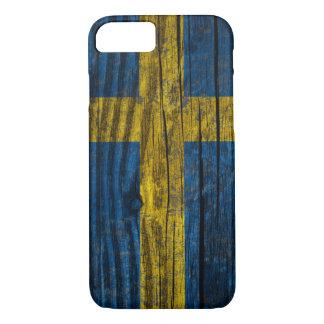Sweden grunge flag iPhone 8/7 case