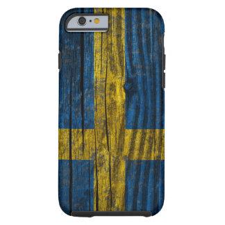 Sweden grunge flag tough iPhone 6 case