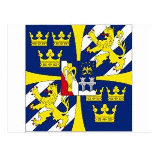 Sweden Kings Personal Standard Postcard