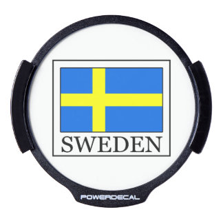 Sweden LED Window Decal