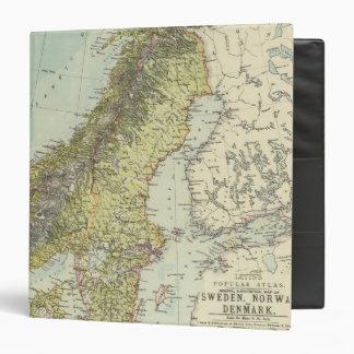 Sweden, Norway, Denmark Vinyl Binder