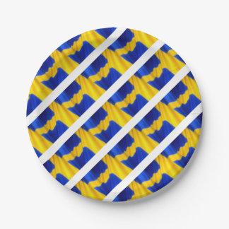 SWEDEN PAPER PLATE