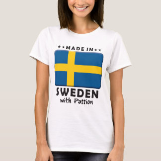 Sweden Passion T-Shirt