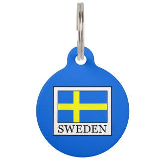 Sweden Pet Nametag