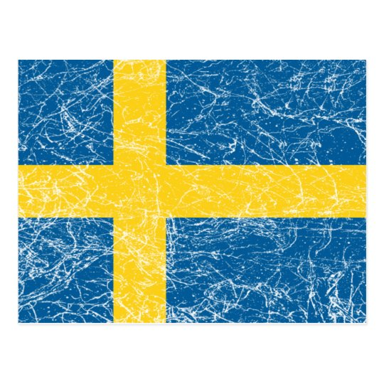 Sweden Postcard