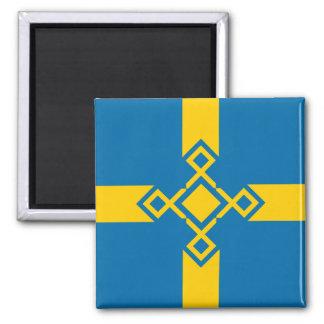 Sweden Rune Cross Magnet