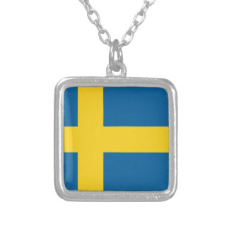 sweden silver plated necklace