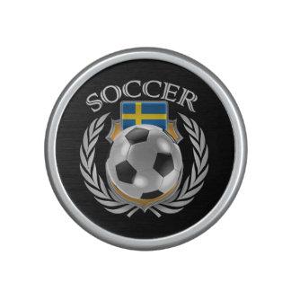 Sweden Soccer 2016 Fan Gear Bluetooth Speaker