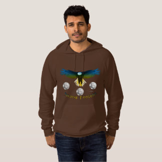 Sweden Soccer Eagle Men's Raglan Sweatshirt