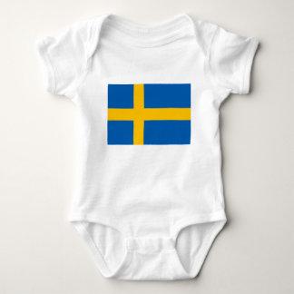 Sweden - Swedish National Flag Baby Bodysuit