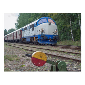 Sweden: TMX 1009 ( NOHAB ) at Kvillsfors Postcard
