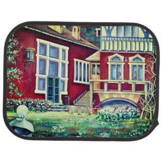 Sweden, Traditional Landscape Car Mat