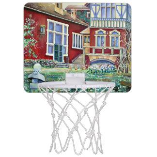 Sweden, Traditional Landscape Mini Basketball Hoop