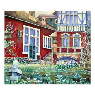 Sweden, Traditional Landscape Photo Print