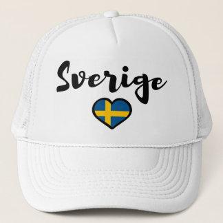 Sweden Trucker Hat