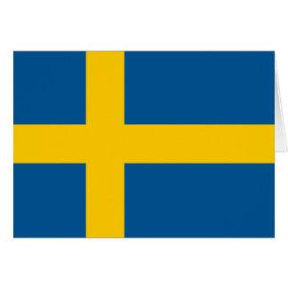 Sweden's Flag Card