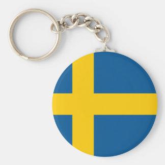 Sweden's Flag Keychain