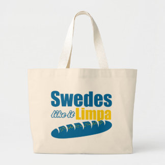 Swedes Like it Limpa Funny Tote Bag