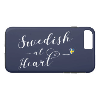 Swedish At Heart Cell Phone Case