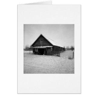 Swedish Barn Card