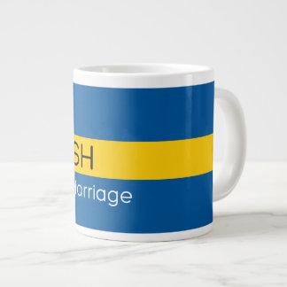 Swedish by Marriage Jumbo Mug