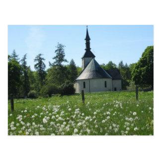 Swedish Church Postcard