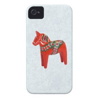 Swedish Dala Horse  Folk Art Case-Mate iPhone 4 Case