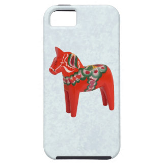 Swedish Dala Horse  Folk Art iPhone 5 Covers