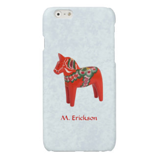 Swedish Dala Horse Folk Art Personalized