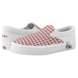 Swedish Dala Horse Slip-On Sneakers