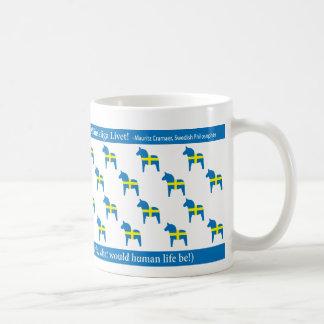 Swedish Dala Mug
