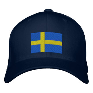 SWEDISH DRINKING TEAM EMBROIDERED HAT
