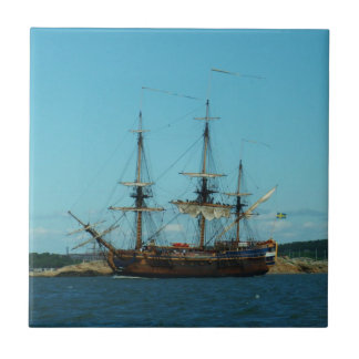 Swedish East Indiaman Tile