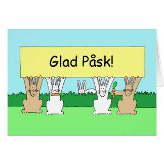 Swedish Easter Glad Påsk Card
