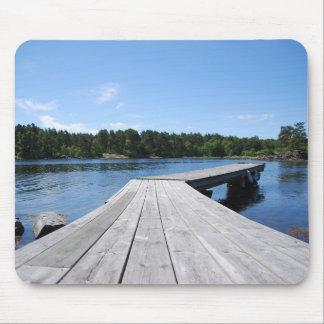 Swedish fjord mouse pad