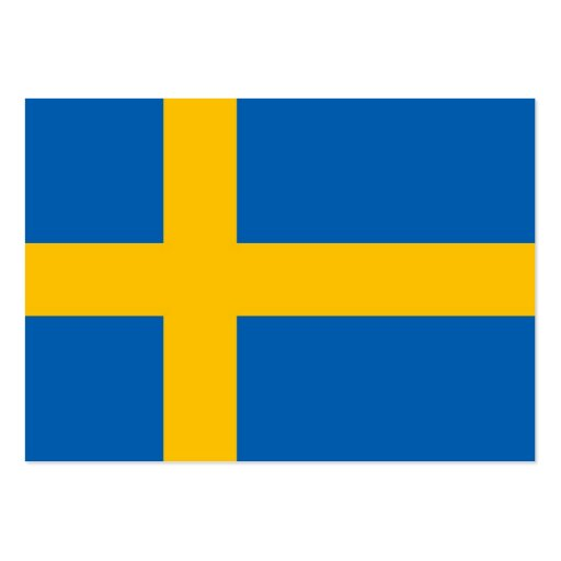 Swedish Flag Business Cards