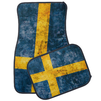 Swedish Flag Car Mat