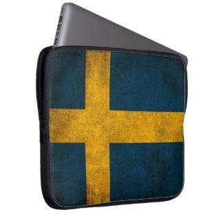 swedish flag computer sleeves