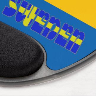 Swedish flag gel mouse pad