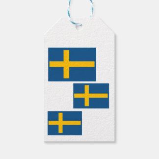 Swedish Flag Gift Tags