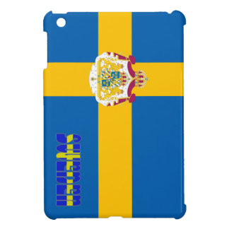 Swedish flag iPad mini covers